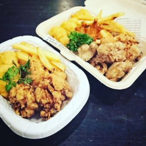 【BRU】chicken basket